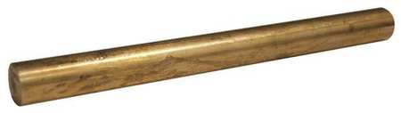 Rod, Brass, 360, 2 1/2 Dia x 1 Ft L
