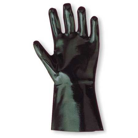 Neoprene,  Chemical Resistant Gloves,  Heavy Weight,  Black,  Size 10