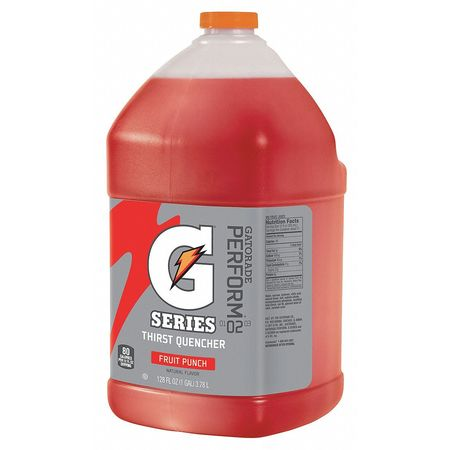 Sports Drink Mix Liquid Concentrate,  Fruit Punch 1 gal.