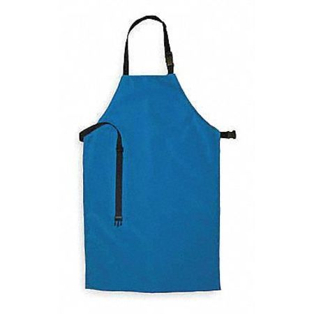 Cryogenic Apron, Blue, 36 In. L, 24 In. W