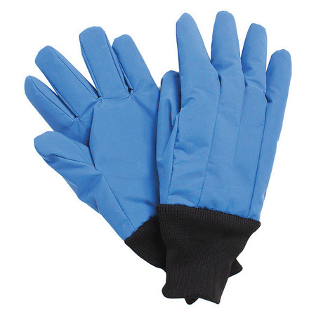 Cryogenic Glove, L, Blue, Size 12 In., PR