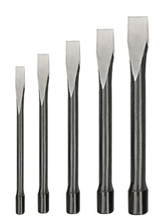 Handguarded Chisel Set, 3/8-7/8 In, 5 Pc