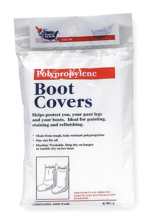 Shoe Covers and Spray Hoods