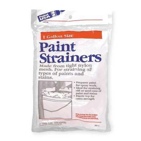 Reusable Paint Strainer Bag, Dia 8 In, PK2