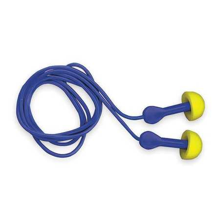 Reusable Ear Plugs, 25dB, Corded, Univ, PK100