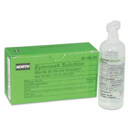 Buffered Eyewash, Bottle, 1 oz.