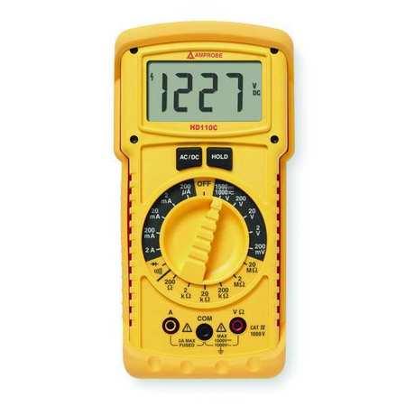 Heavy Duty Digital Multimeter, 1000V