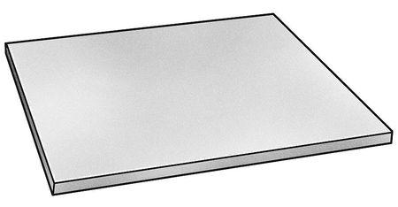 Plate Stock, Al, 6061, 1 1/2 x 6 x 6 In