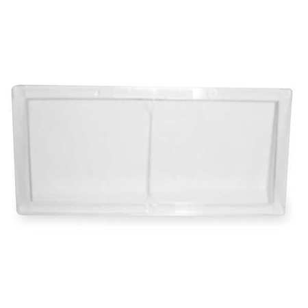Polycarbonate Plate with Cover Plate,  Shade 11