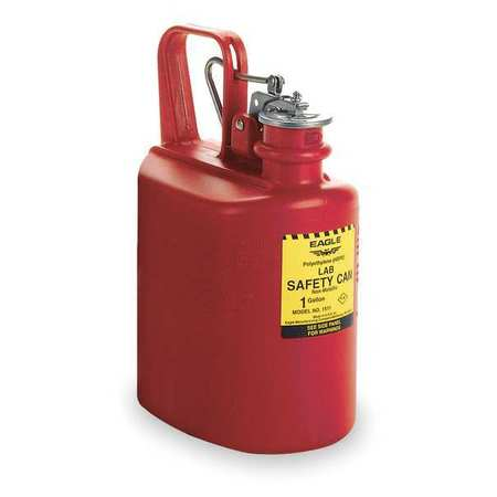 Type I Safety Can, 1 gal, Red, 13InH