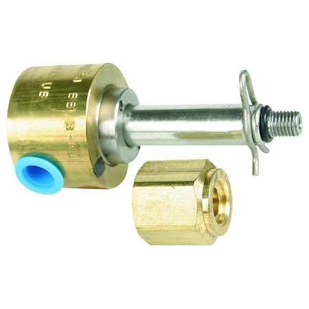 "1/4"" NPT 3-Way Solenoid Valve Less Coil"