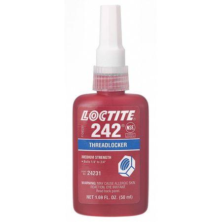 Threadlocker 242, 250mL Bottle, Blue