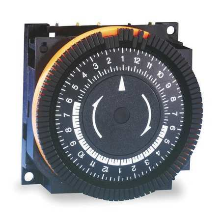 Electromechanical Timer, 24 hr., 20A