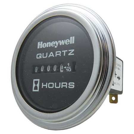 Hour Meter, DC Quartz, 10 to 80VDC