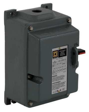Manual Motor Starter, 30A, 600VAC, 2P