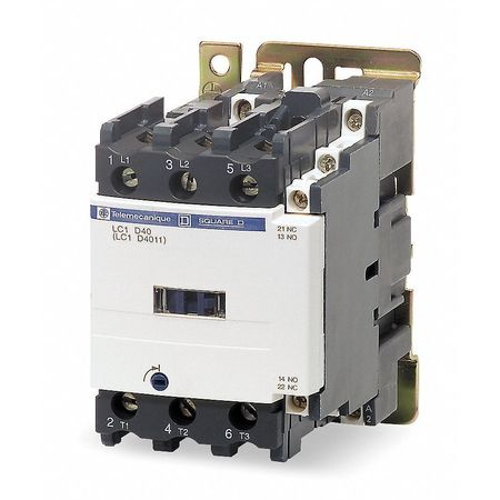 IEC Magnetic Contactr, 480VAC, 50A, 1NC/1NO