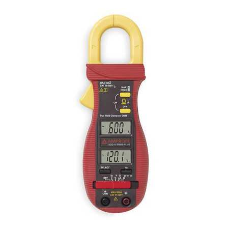 Digital Clamp Meter, 600A, 40 MOhms