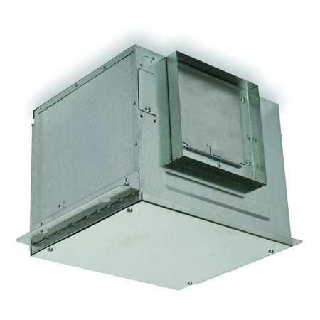 In-Line Cabinet Ventilator, 124 CFM, 115 V