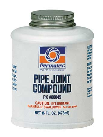 Pipe Joint Compound, 16 oz., Black