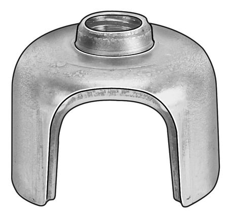 """1/4""""-20 Cold Rolled Steel Round T-Joint Fastener,  10 pk."""