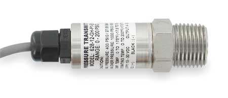 Pressure Transducer, 0-100psi, 36In Lead