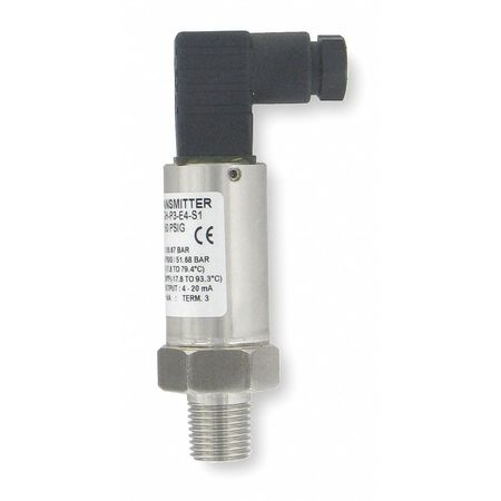 Pressure Transducer, 0 to 50 PSI, +/-1Pct