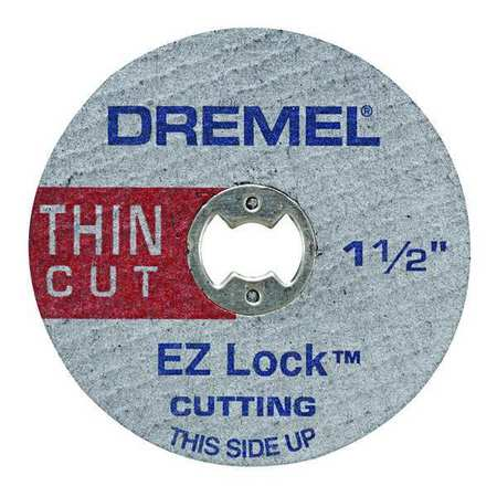 Thin Metal Cutting Wheel, 1.5 Dia, PK5
