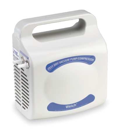 Piston Air Compressor/Vacuum Pump, 1/32HP