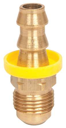 Hose Fitting, 3/8 In. ID, 9/16-18, (M) JIC