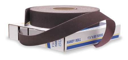"Abrasve Roll, 2"" W x 150 ft. L, 240G, Cloth"