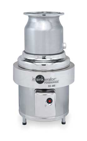 Garbage Disposal, Commercial, 3 HP