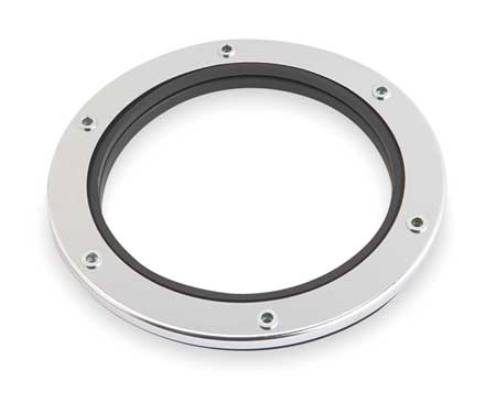Mounting Gasket, Rubber, Chrome Plated