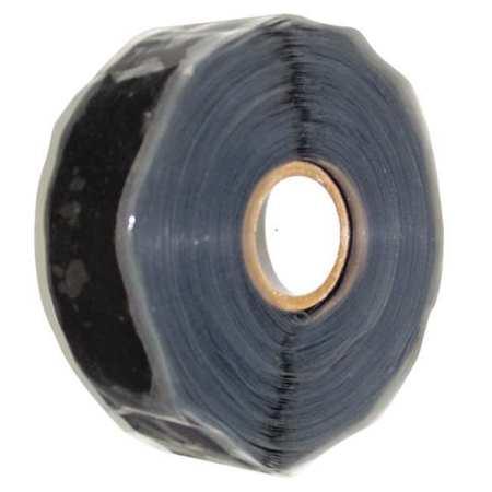 Self-Fusing Tape,  1 x 432 in,  20 mil,  Black
