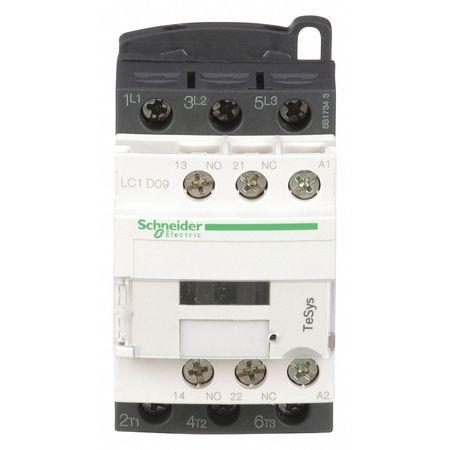24VAC Non-Reversing IEC Magnetic Contactor 3P 9A