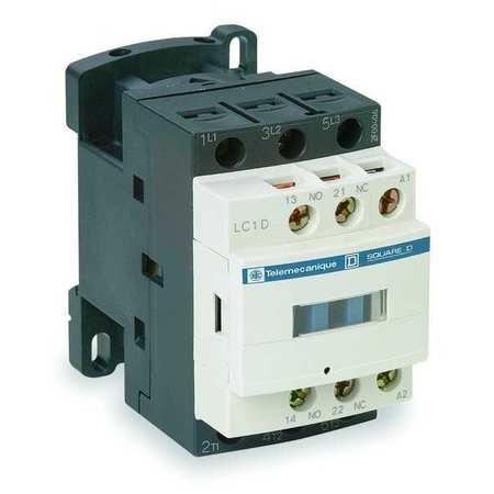 IEC Magnetic Contactr, 480VAC, 18A, 1NC/1NO