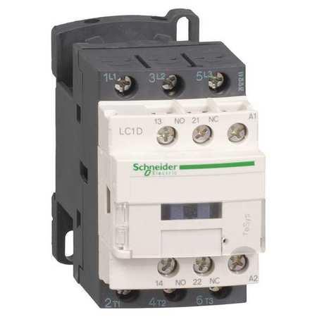 IEC Magnetc Contactr, 24VAC, 9A, 1NC/1NO
