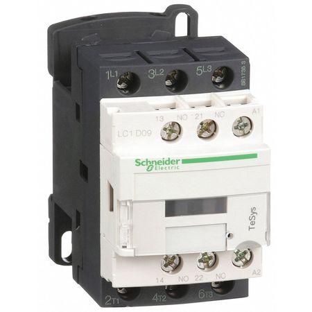 120VAC Non-Reversing IEC Magnetic Contactor 3P 9A