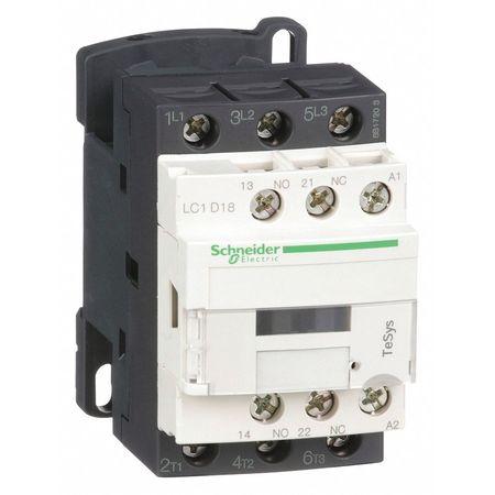 240VAC Non-Reversing IEC Magnetic Contactor 3P 18A