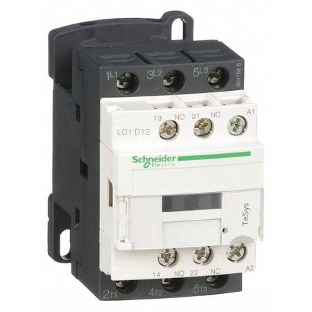 240VAC Non-Reversing IEC Magnetic Contactor 3P 12A