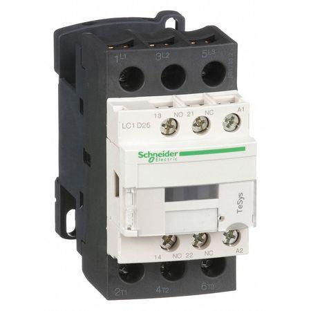 120VAC Non-Reversing IEC Magnetic Contactor 3P 25A