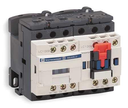IEC Magnetic Cntactr, 480VAC, 25A, Revrsing