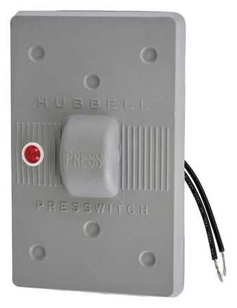 Weatherproof Wall Plate, 1 Gang, Gray