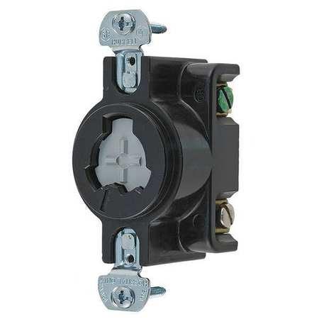 20/10A Locking Receptacle 2P 3W 125VAC/DC 250VDC 480VAC