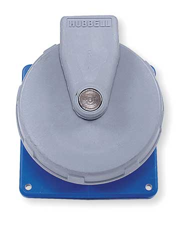 IEC Pin and Sleeve Receptacle, 20A, 208V