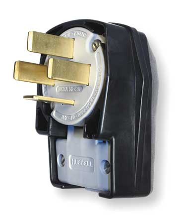 Angle Plug, 18-60P, 60A, 120/208VAC 3 Phase