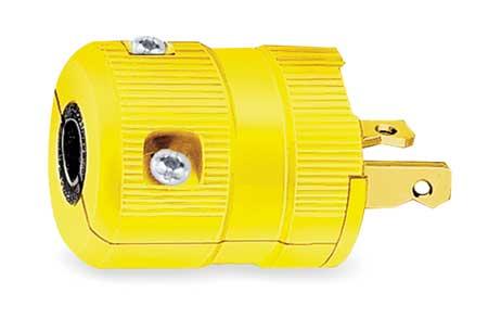 Plug, 2-20P, 20A, 250V
