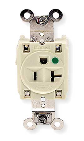 20A Single Receptacle 125VAC 5-20R IV