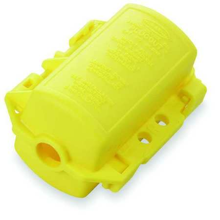 Plug Lockout, Yellow, 5/16 In. Dia.