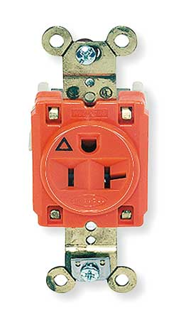 20A Single Receptacle 125VAC 5-20R OR
