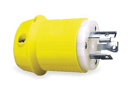 30A Marine Locking Plug 2P 3W 250VAC L6-30P YL